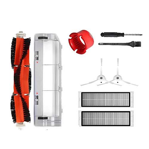 JVSISM Cubierta del Cepillo Principal Accesorios de Filtro Hepa para S50 S51 S55 S6 Robot Aspiradora Juego de Piezas de Repuesto
