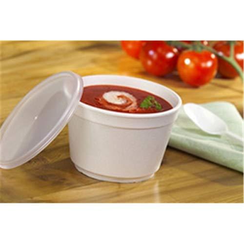 PAPSTAR 85377 deksel voor soepbeker to go, diameter: 99 mm