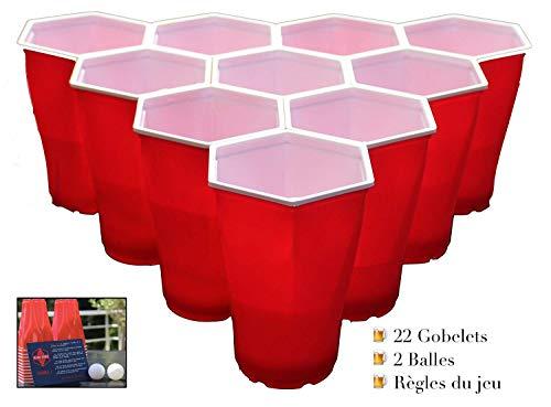 avis thé au monde professionnel Hexa Pong – Verre World Beer Pong