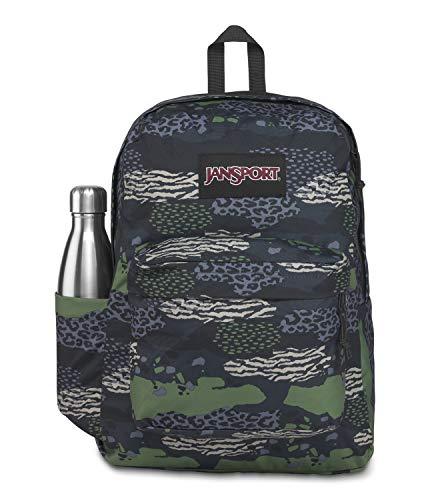 JanSport SuperBreak Plus Laptop Backpack - Lightweight School Pack, Animal Mix