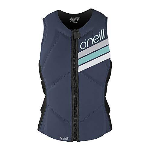 O';Neill Damen Slasher Comp Wassersport Wasserski Jetski Wakeboarden Safety Impact Vest - Top Mist Graphite