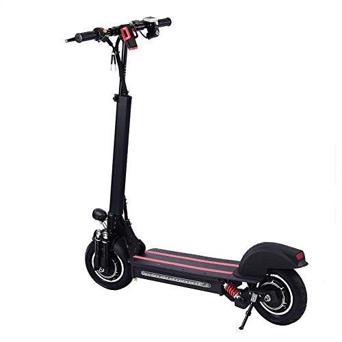 Scooter eléctrico doble accionamiento de 10 pulgadas Velocidad máxima: 35-45KM / H...