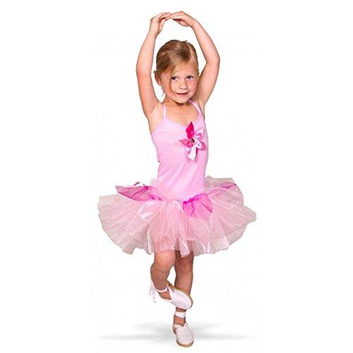 Folat 21866tutú de Bailarina Disfraz de niños (tamaño 116–134, tamaño Mediano)