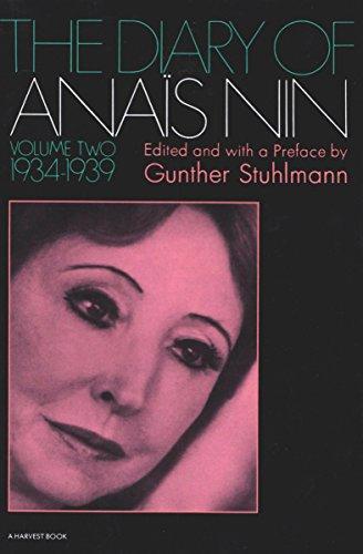 The Diary of Anaïs Nin, 1934–1939: Vol. 2 (1934-1939) (The Diary of Anais Nin)