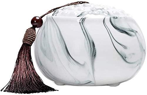 Opslagtank Urnen Ashes Keepsake Urn begrafenis urnen Ashes Adult of Huisdier Vertoning Burial Urn at Home Office Unique inkt schilderij Tea Fruit Jar