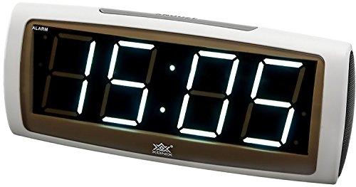 Xonix BKX1819/2 - Sveglia con Schermo Grande e Funzione Snooze