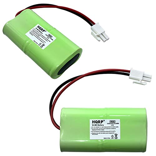 HQRP 2-Pack Battery Works with Mosquito Magnet HHD10006 MM565021 Liberty Plus, Executive Trap, Commander Trap MMBATTERY MM3100 MM3300 MM3400 565-021 H-SC3000X4