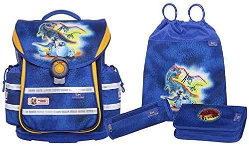 MC Neill Set de Sacs Scolaires, Blau/Gelb (Multicolore) - 9606160000