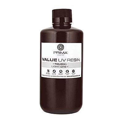 PrimaCreator Value Tough UV Resin (ABS Like) - 1000 ml - Light Grey