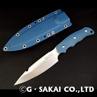 ジー・サカイ(G・SAKAI) SABIKNIFE3(4寸5分)FRNブルー ガットフック付き 11509 ブルー