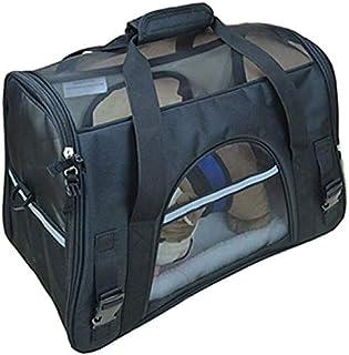 MAOSHE Pet Bag, Breathable Pet Dog Carrier Fashion Handbag Portable Pet Cat Carriers Dogs Outdoor Travel Bag Shoulder Carr...