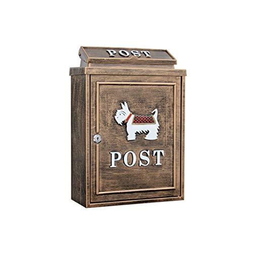 CKH brievenbus, antiek-look, puppen-villa, voor buiten