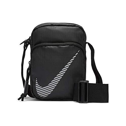 Nike Bolso unisex Heritage 2.0, color negro, talla única