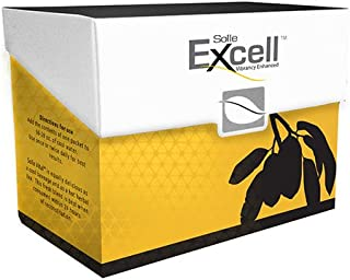 SOLLE NATURALS EXCELL– Herbal Supplement For Respiratory and Circulatory System, Red maca powder, Yellow maca, Black maca ...