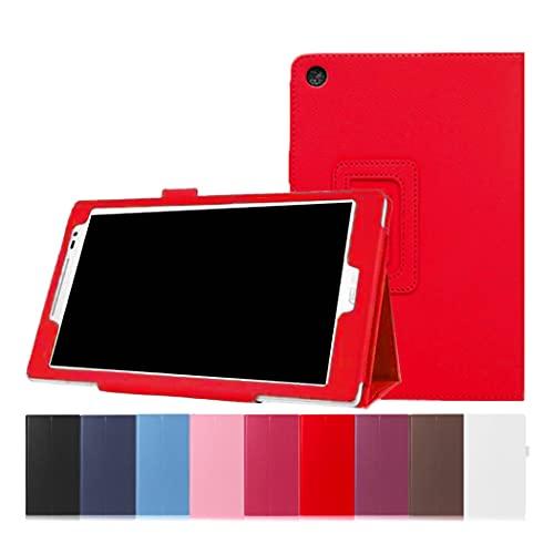 ASUS ZenPad 8.0 ZenPad 8 Z380M Z380KNL Z380KL Z380KL Z380C ケース カバー スタンドケース スタンド 多機能 タブレット タブレットカバー タブレットケース ZenPad 8.0 レッド