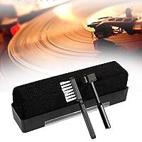 3pcs Cleaning Brush Set Anti-Static Phono Carbon Fiber Dust Remove Vinyl Record Soft Tool Turntable Portable Practical Stylus