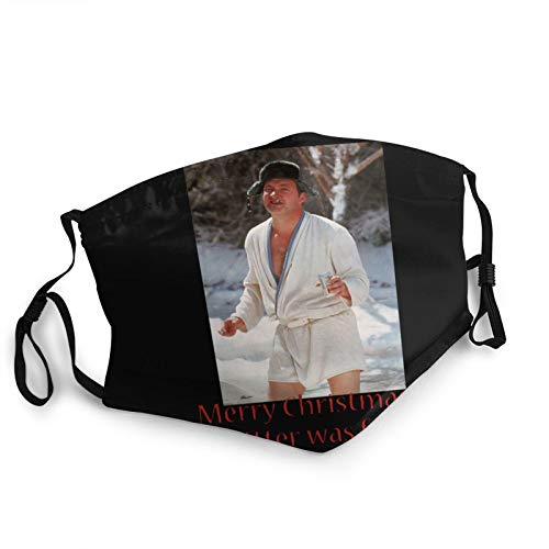 DRAWWIND Cousin Eddie National Lampoon's Christmas Vacation Movie Reusable Face Mouth Mask Cover Black