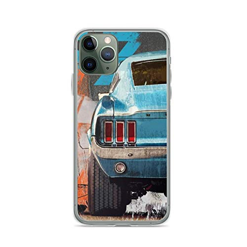 Phone Cases Ford Mustang Contain for iPhone 6 Plus ~ 6s Plus Drop Shock Scratch
