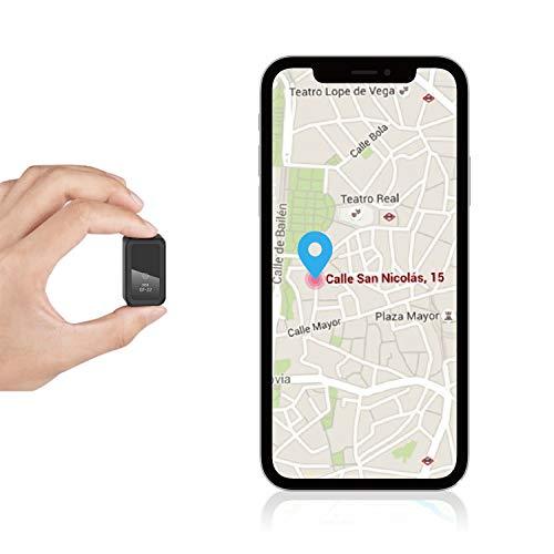 Mini Localizadores GPS, Rastreadores GPS Antirrobo con Imán y Seguimiento en Tiempo...