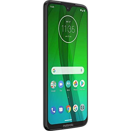 Motorola Moto G7 (64GB, 4GB RAM) Dual SIM 6.2' 4G LTE (GSM Only) Factory Unlocked Smartphone International Model XT1962-6 International Version No Warranty