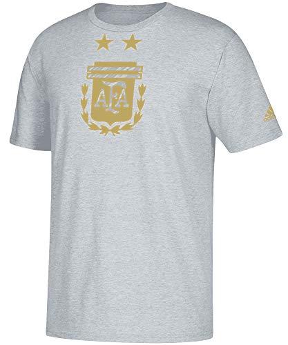 adidas German National Team Soccer Brushed Stripes Men's Short Sleeve T-Shirt