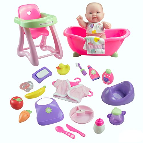 JC Toys Lots to Love Doll Gift Set