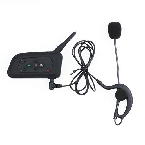 Find Discount RGLZY Motorcycle Helmet Intercom Headset Bluetooth, Wireless Bluetooth Football Refere...