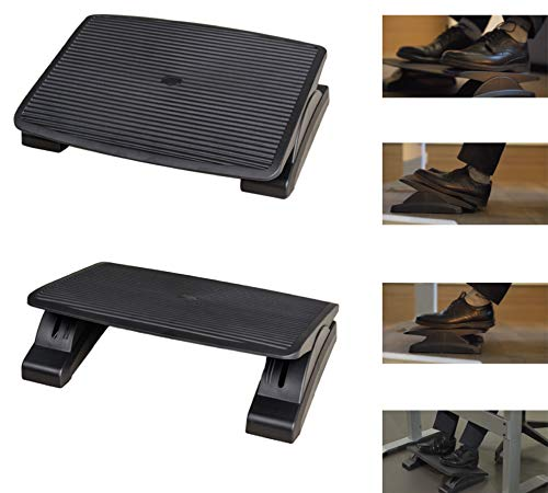 ITALO Adjustable & Ergonomic Footrest for Home and Office