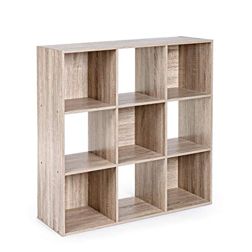 YES EVERYDAY Mila Bookcase W-9SHELVES H90 LIBRERIE, One Size
