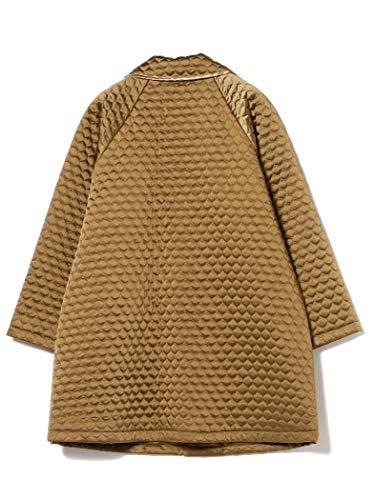 『[ビームスボーイ] コート キルティング チャイナ コート レディース キャメル Free Size』の2枚目の画像