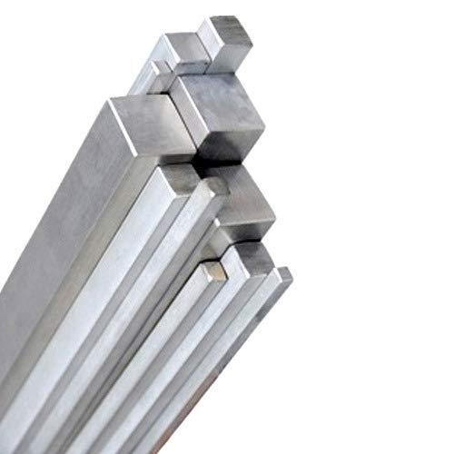 Innovo Barra cuadrada de aluminio sólido. 12,7 mm x...