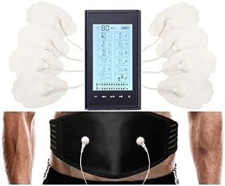 HealthmateForever 12 modos eléctricos espalda dolor alivio pantalla táctil sistema electroterapia masaje aparato del negro
