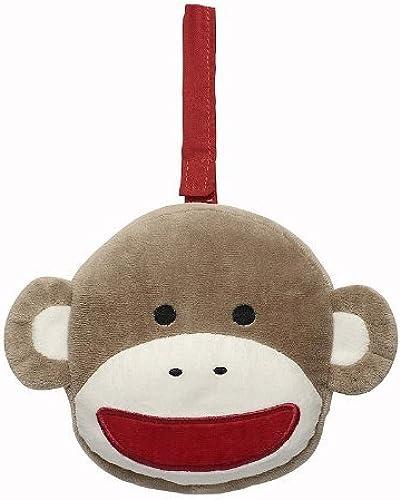 Baby Starters Plush Sock Monkey Soft Book