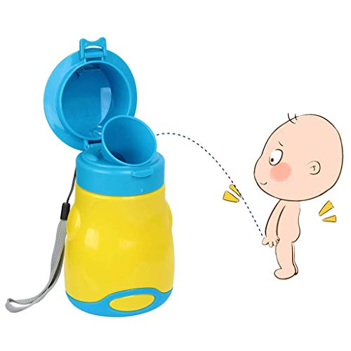 LPing bébé Urinoir Portable garçon Enfants Tout-Petits Potty Urinoir Toilettes d'urgence pour Camping Car Voyage et Kid Potty Pee Formation