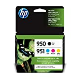 HP 950 & 951 | 4 Ink Cartridges | Black, Cyan, Magenta, Yellow | CN049AN,...