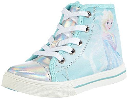 Frozen Girls Kids Athletic Sport, High-Top Garçon Fille, Multicolore 025 Silver White L T Blue, 28 EU