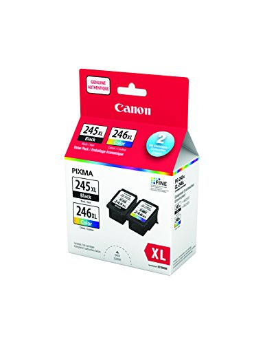 Canon PG-245XL / CL-246XL Ink Value Pack Ink