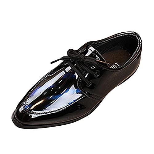 Zapatos niño 1-13 años Mocasines para niño Zapatos de Cuero para niños de Vestir Verano otoño Señores Tango Baile Latino Zapatos de Baile para Show Antideslizante cómodos Zapatos de comunion niño
