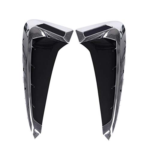 YXNVK Car Side Fender Vent Decoration 3D Stickers,For BMW Emblem Logo X5 F15 X5M F85 2014 2015 2016 2017 2018