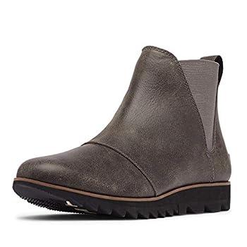 Sorel Women s Harlow Chelsea Boot - Rain - Waterproof - Quarry - Size 8