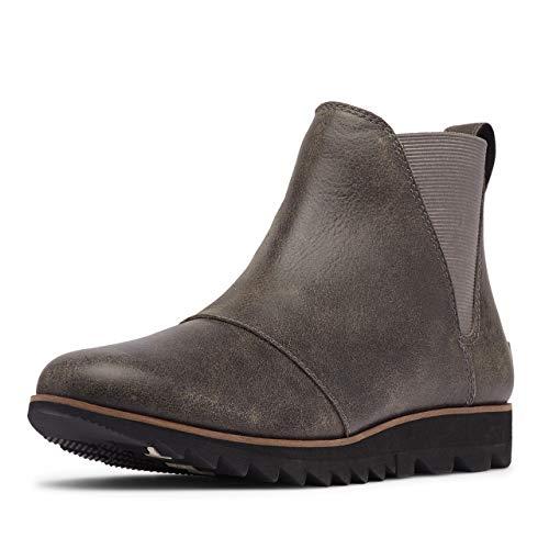Sorel Women's Harlow Chelsea Boot - Rain - Waterproof - Quarry - Size 8