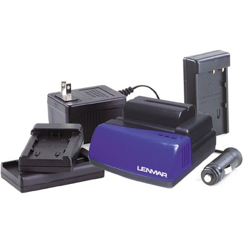 Lenmar BCLC1X 3.6 Volt -7.4 Volt LI-ION Charger for Camcorder and Camera Batteries