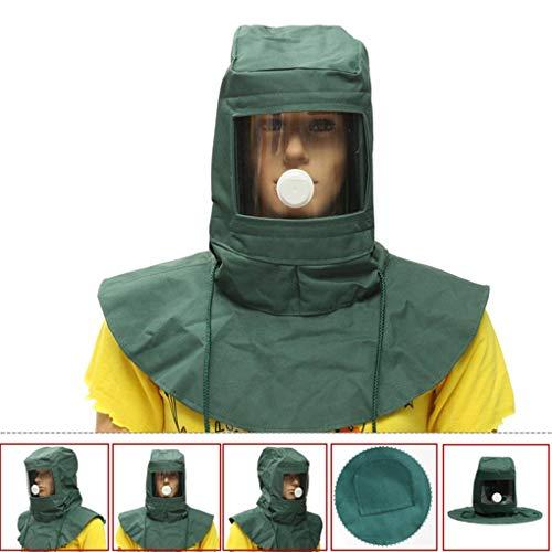 Yongse Strahlhaube Sandstrahlmaske Sandstrahlmaske Staubschutzgerät