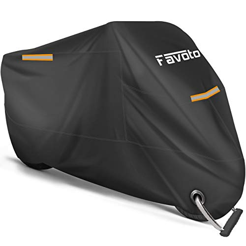 Favoto Motorcycle Cover All Season Universal Weather Premium...