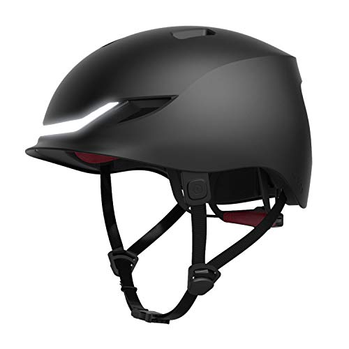 LUMOS Matrix Smart Helmet (Charcoal Black) | Urban | Skateboard, Skate, Scooter, Bike Accessories |...