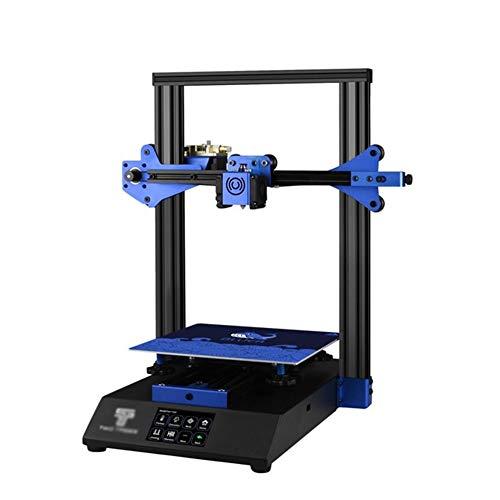 LINDANIG 3D Imprimante Bluer Haute précision Mise à Niveau Automatique CV Imprimer Verre Trempé CV Power Failure Grande Taille Plus (Couleur : Noir)