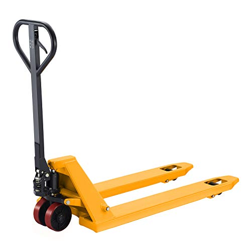 """Tory Carrier Manual Pallet Jack Hand Pallet Truck 48' Lx21""""W 4400lbs Capacity"""