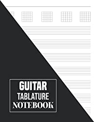 Guitar Tablature Notebook: Guitar Tablature Notebook. Blank Music Journal for Guitar Music Notes. (8.5 x 11 Inches and 120 Pages)