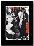 Gasolinerainbows - Status Quo - The Dirt - Revista montada Obra de Arte Promocional en una Montura Negra - Matted Mounted Magazine Promotional Artwork on a Black Mount