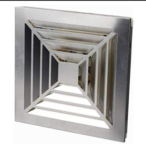LANDUA Ventilador de ventilación, conductos de Escape del Ventilador, de Techo Cuadrada o de Montaje en Pared Inicio Integrado